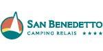 san benedetto camping logo