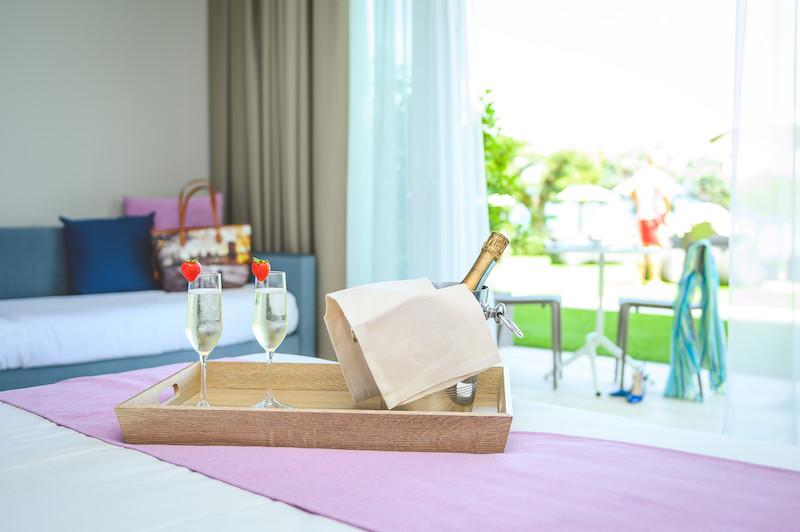 foto dettaglio suite albergo