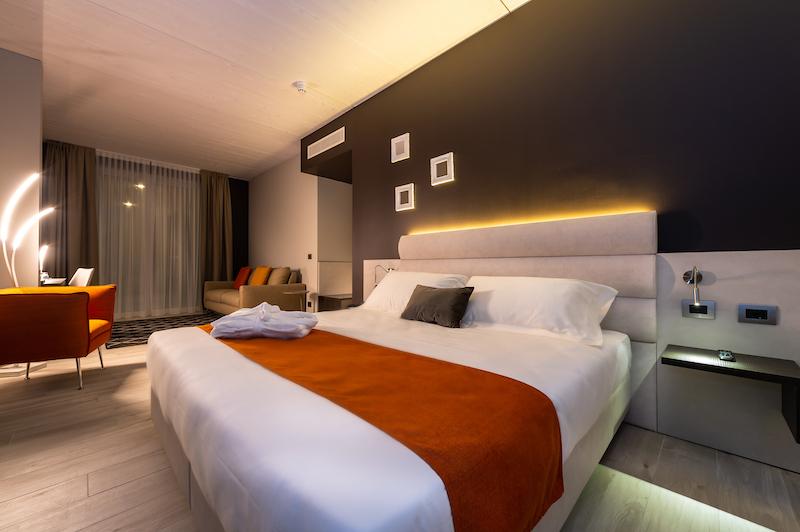fotografia professionale dettaglio stanza hotel