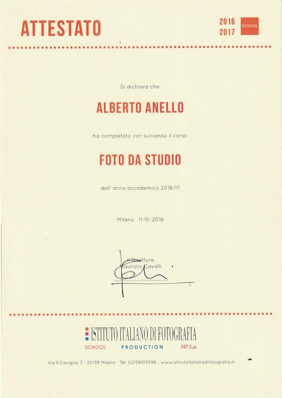 Photoring - Anello Alberto - Fotografo commerciale NPS