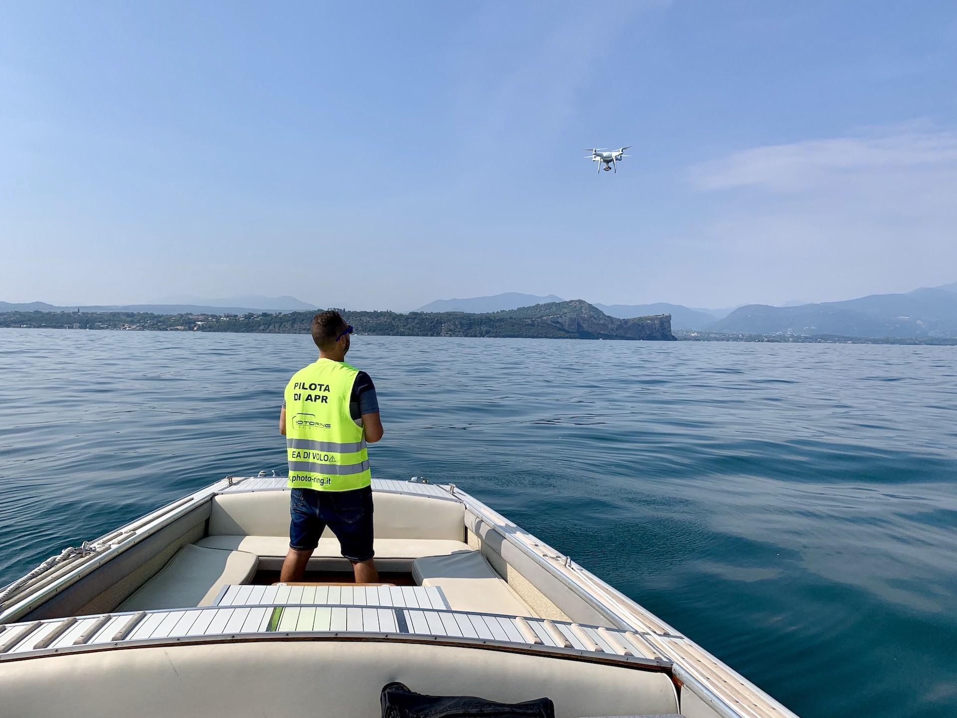 photoring riprese drone lago garda