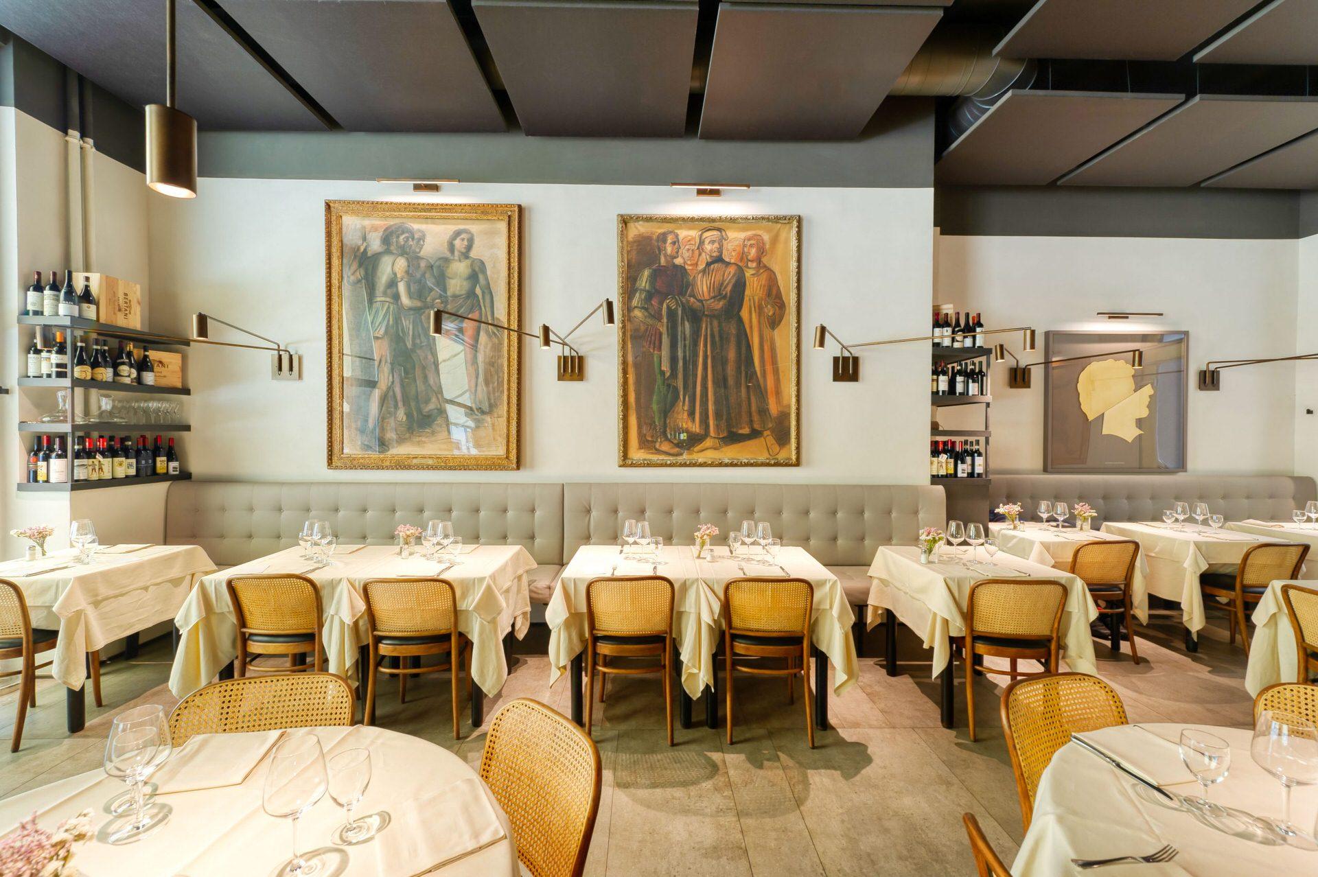 fotografia interni ristorante