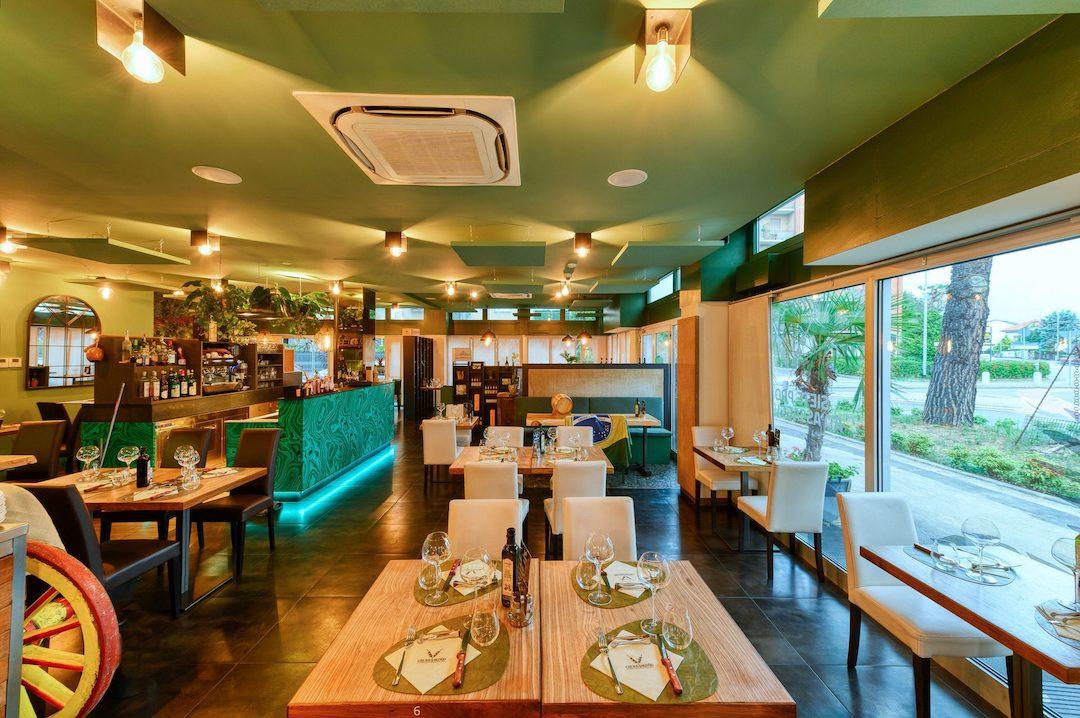 servizio fotografico interni ristorante