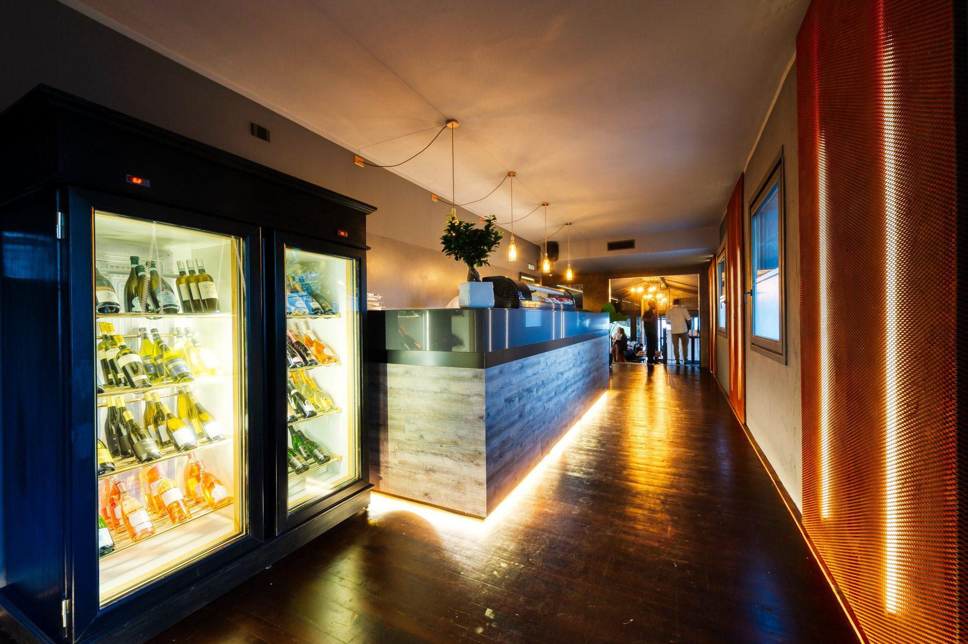 immagini professionali entrata ristorante brescia