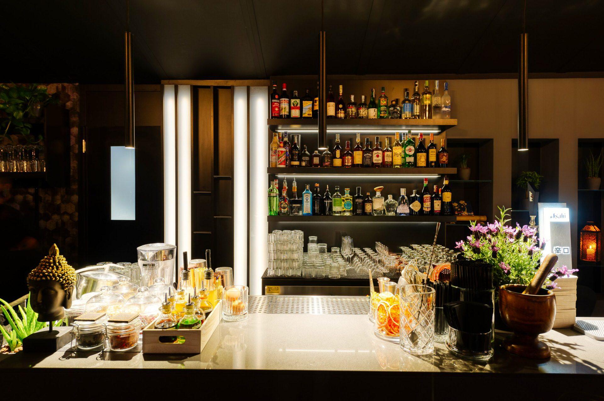 Fotografia professionale interni design ristorate bar