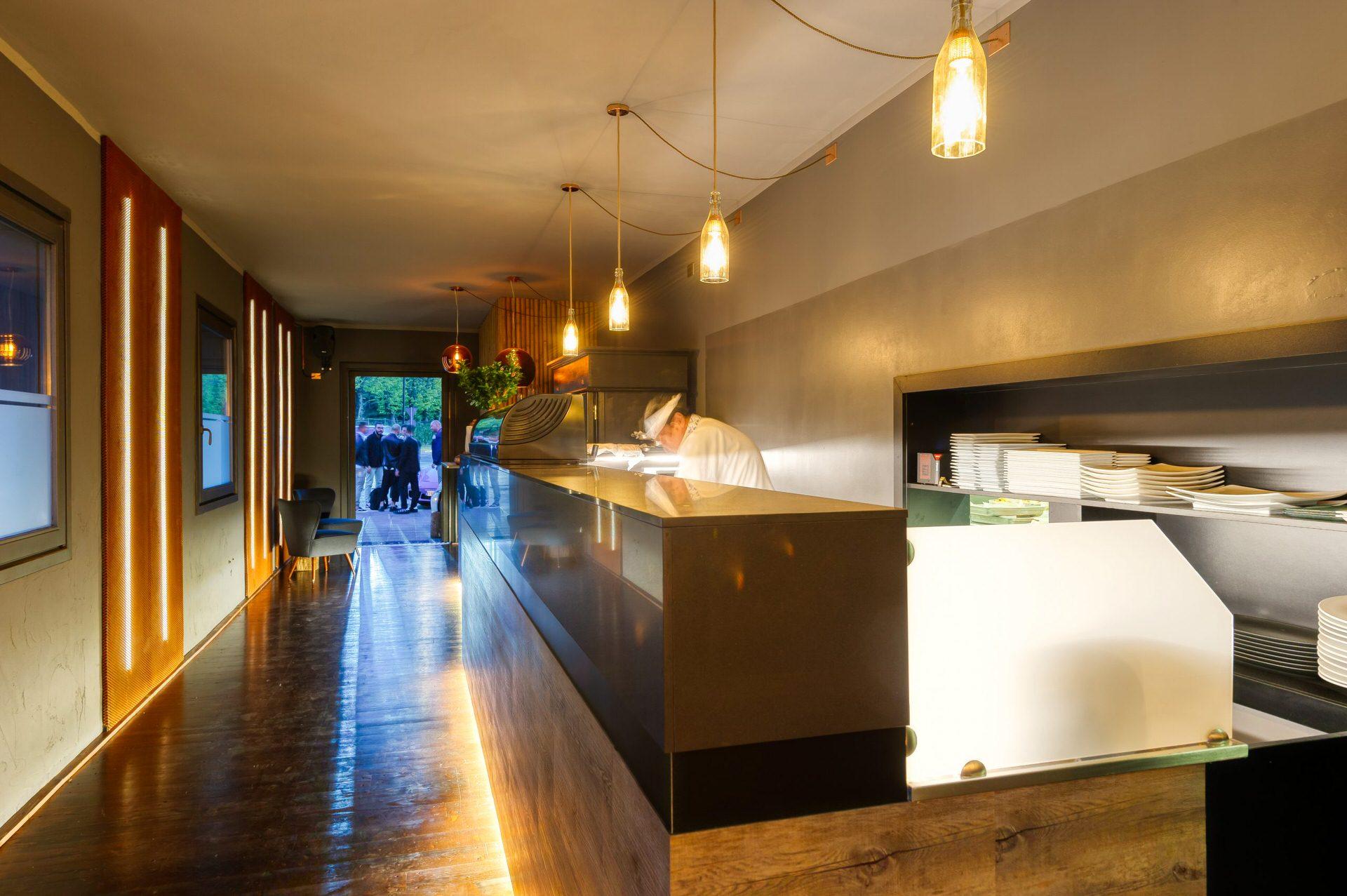 Fotografie professionali interni ristorante Brescia