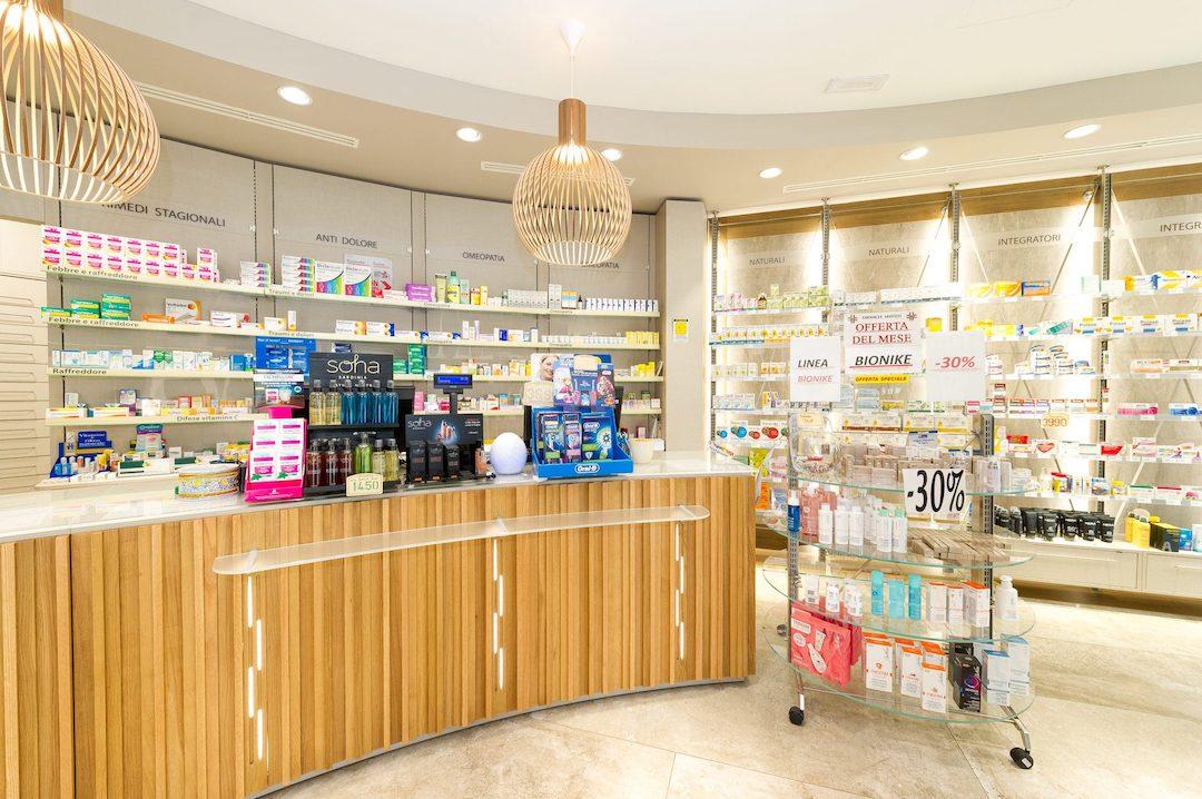 fotografie professionali interni farmacia