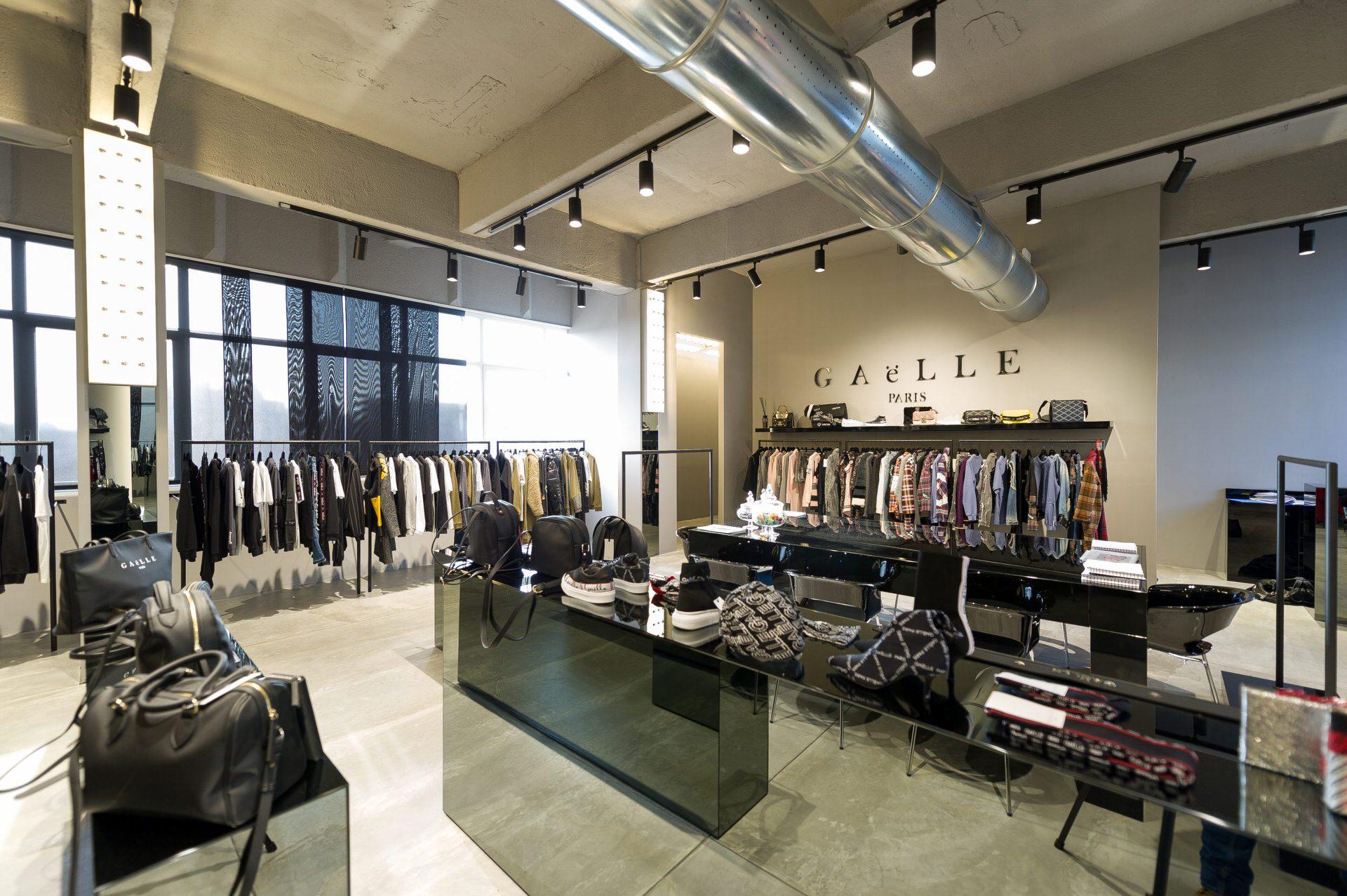 fotografie professionali showroom abbigliamento
